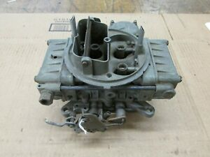1957 Ford T bird Holley 4 Barrel Carburetor List 1273 6a2 Eoz V