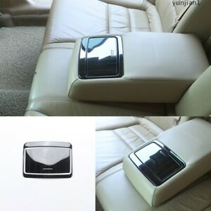 Black Titanium Rear Water Cup Panel Cover For Honda Accord Crosstour 2008 2013