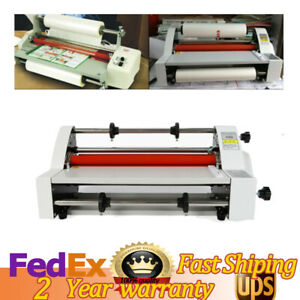 V350 13 350mm Hot Cold Roll Laminator 110v Hot And Cold Roll Laminating Machine