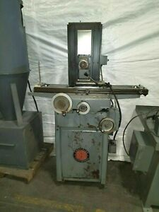 Reid Precision Surface Grinder Model 6 X 12 550 Volts With Magnetic Chuck