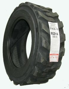 Power King 27x8 50 15 Lrd Skid Loader Tractor R4 Tire