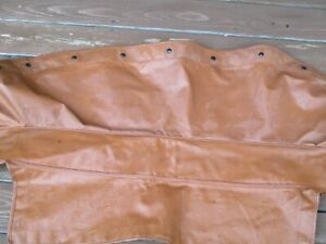 Mg Mgb Genuine Convertible Boot Cover Autumn Leaf Free Shipping