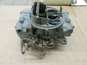 1970 1971 1972 Gmc Chevy Truck Holley 600 Cfm 4 Barrel Carburetor 6619 1
