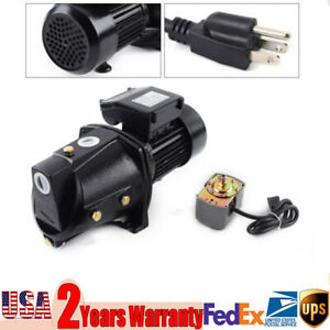 Commercial Well Jet Pump W Pressure Switch Heavy Duty Water Jet Pump 3420 Rpm