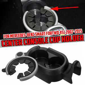 Car Center Console Drink Cup Holder For Mercedes Smart Fortwo 451 2007 2015