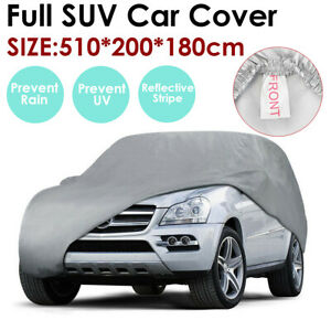 Xl Full Car Cover Breathable Dust Sun Protector Indoor Outdoor For Ford Explorer