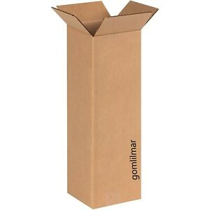 25 6x6x18 Cardboard Packing Mailing Moving Shipping Boxes Corrugated Box Cartons