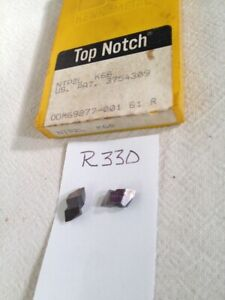 5 New Kennametal nt Ntp 2l Top Notch Carbide Inserts Grade K68 r330