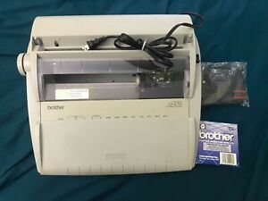 Brother Gx 6750 Electric Typewriter Tested New Ribon And Correction Tape