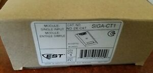Edwards Siga ct1 Single Input Module For Fire Alarm System And Signaling Device