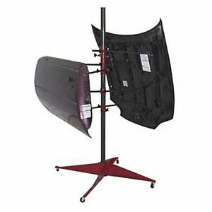 Panel Tree Paint Stand For Auto Body Paint Repairs By Steck Manufacturing