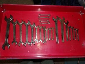 Large Lot Of 23 Din Wrenches West Germany