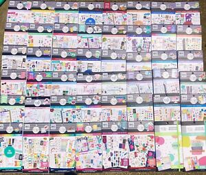 The Happy Planner Lot Of 50 Brand New Sticker Books No Duplicates