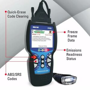 Innova 3100j Diagnostic Automotive Code Reader Easily Detects Issues With Autos