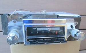 1966 1967 Chevelle Factory Am Fm Radio Delco 986529 Clean Working Oem El Camino
