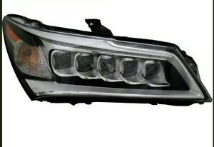 Led Headlight Assembly New Right Passenger Side For 2014 2015 2016 Acura Mdx
