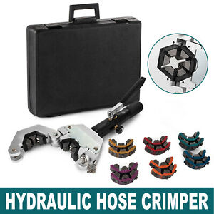 71500 A c Hydraulic Hose Crimper Kit Air Conditioning Repair Crimping Hand Tools