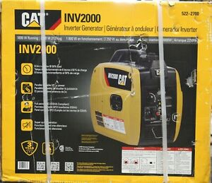 Cat Inv2000 1800 Running Watts 2250 Starting Gas Powered Inverter Generator New