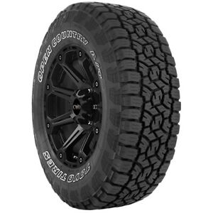 4 lt265 70r17 Toyo Open Country A t Iii 121 118s E 10 Ply White Letter Tires