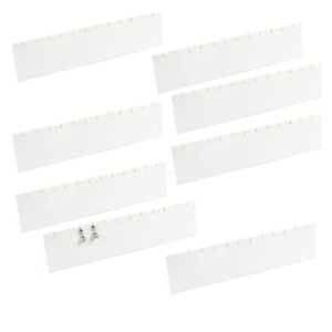 Lot Of 12 Long Earring Display Stand White Earring Display Jewelry Display Deal