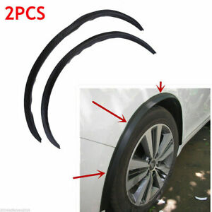 2pcs Car Auto Fender Wheel Eyebrow Protector Strips Rubber For Ford Focus Parts