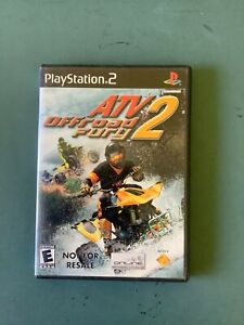 ATV Offroad Fury 2 (Sony PlayStation 2  2002) NOT FOR RESALE  CIB w/ Manual