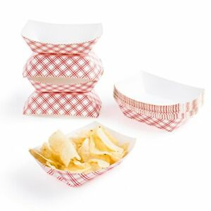 Disposable Paper Food Tray For Carnivals Fairs Festivals picnics Holds Nachos