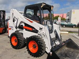 2018 Bobcat S650 Turbo Bob Tach Power Coupler Big 74 Hp Tier Iv 793 Hours