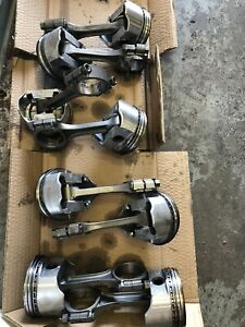 Sbc Small Block 350 355 5 7 Connecting Rods With 030 Pistons