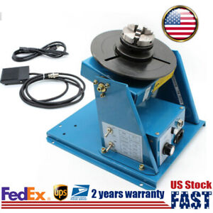 Rotary Welding Positioner Turntable Table 0 90 Adjustable Foot Switch Control