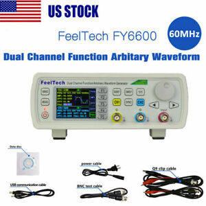 60mhz Dual Channel Dds Function Signal Generator Arbitrary Waveform Pulse Source