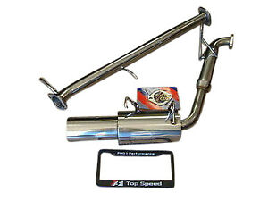 Fits Mazda Mx5 Miata Na6ce 1 6l 1 8l 89 97 Top Speed Pro 1 Exhaust System