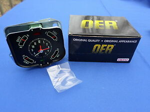 New 1968 Chevelle And El Camino In Dash Clock Gauge Cluster Oer Parts 6481543