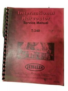 International Harvester Service Manual T340 Crawler