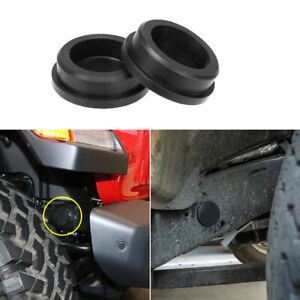 Frame Girder Tube Hole Caps Rubber Plugs Cover For 2018 2020 Jeep Wrangler Jl