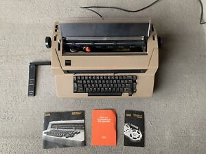 Vintage Ibm Correcting Selectric Iii Typewriter Works read