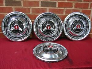 66 Plymouth Belvedere Gtx Sport Furry Satellite Spinner Hubcaps