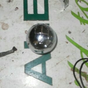 Vintage Chrome 4 Speed Gear Shift Knob shifter