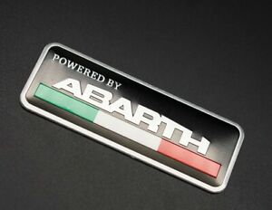 Car Interior Exterior Body Emblem Sticker Badge Decal Styling Logo For Abarth