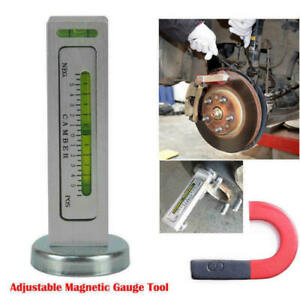Car Truck Adjustment Magnetic Guage Tool Wheel Alignment Castor Camber Angle Kit