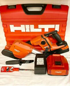 Hilti Te 6 a36 Rotary Hammer Drill W Te Drs 6 a Case Battery And Charger 36v