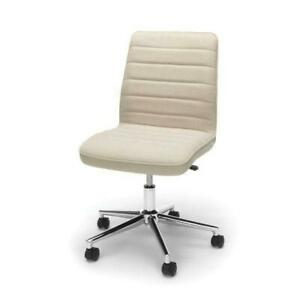 Tan Upholstered Lumbar Support Heavy Duty Conference Chair