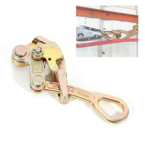1t 2204lb Multifunctional Cable Wire Rope Haven Grip Pulling Puller Alloy Steel