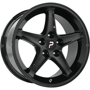 4 17x9 Black Wheel Oe Performance 102 1995 Mustang Cobra R 5x4 5