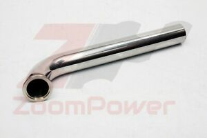 44mm 60mm Dump Pipe V Band Flanged Wastegate Stainless Steel