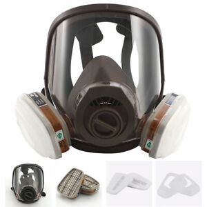 7in1 Full Facepiece Respirator Painting Spraying For 6800 Full Face Gasmask
