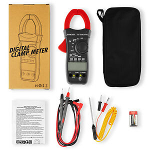 Digital Clamp Meter Dc Current 4000 Counts Ac dc Volt 1000a Handheld Tester
