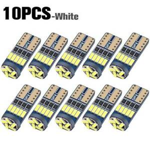 10x T10 Led Canbus Error Free Bulbs 15smd 194 W5w Car Wedge Lamp Dome Map Lights