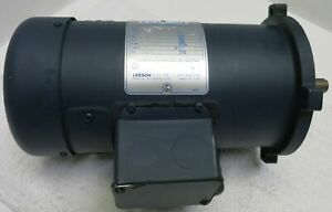 Leeson Dc Magnet Motor 1 2hp 098000 00 1750rpm Frame Nss56c Tefc C42d17fk1a Df