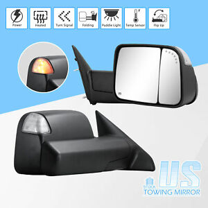 For 09 18 Dodge Ram 1500 2500 3500 Towing Mirror Power Heated Puddle Temp Sensor
